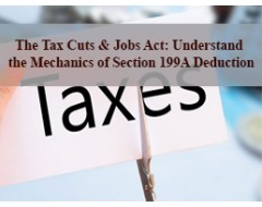 The Tax Cuts & Jobs Act: Understand the Mechanics of Section 199A Deduction