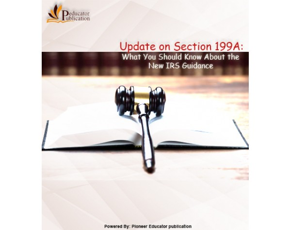 Update on Section 199A: What You Should Know About the New ...