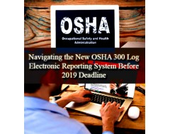 Navigating the New OSHA 300 Log Electronic Reporting System Before 2019 Deadline